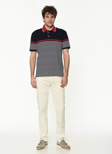George Hogg Erkek 7004651 Slim Fit Tshirt Lacivert